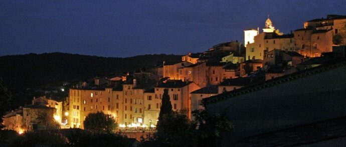 Image de Seillans la nuit